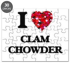 I love Clam Chowder Puzzle
