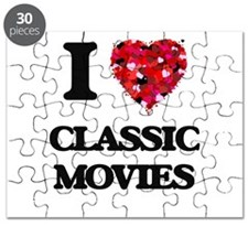 I love Classic Movies Puzzle