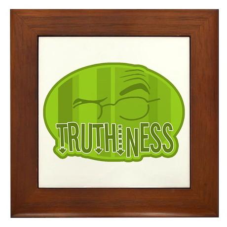 Truthiness 2 Framed Tile