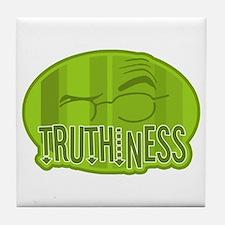 Truthiness 2 Tile Coaster