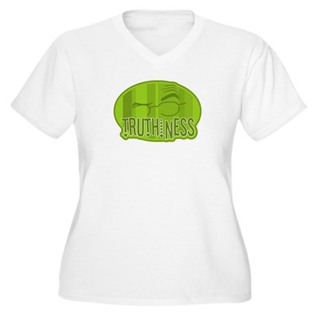 Truthiness 2 Women's Plus Size V-Neck T-Shirt