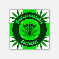 Medical Cannabis Supporter Sticker