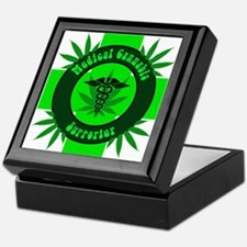 Medical Cannabis Supporter Keepsake Box