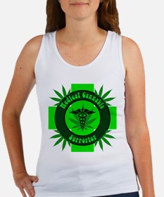 Medical Cannabis Supporter Tank Top
