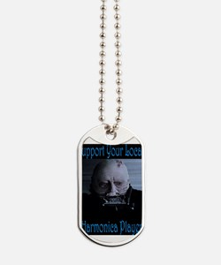 Harmonica Player Dog Tags