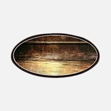rustic country lake canoe Patch