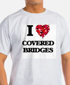 I love Covered Bridges T-Shirt