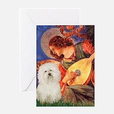 Mandolin Angel & Bolognese Greeting Card