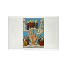 Mano Ponderosa - Hand of God Rectangle Magnet