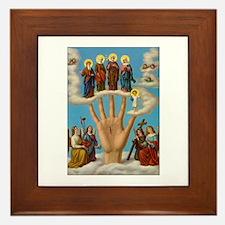 Mano Ponderosa - Hand of God Framed Tile