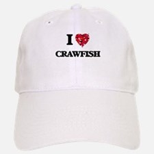 I love Crawfish Baseball Baseball Cap