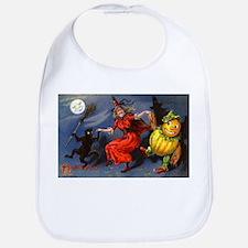 Halloween Witch Bib
