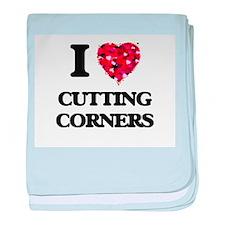 I love Cutting Corners baby blanket