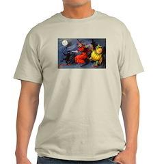 Halloween Witch (Front) Light T-Shirt