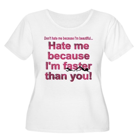 Faster than you Women's Plus Size Scoop Neck T-Shi