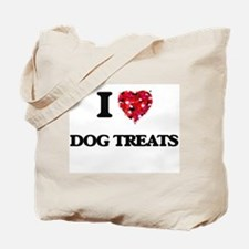 I love Dog Treats Tote Bag