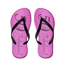 50th Birthday Fabulous Flip Flops