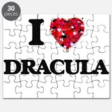 I love Dracula Puzzle