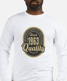 Satisfaction Guaranteed Best 1963 Quality Long Sle