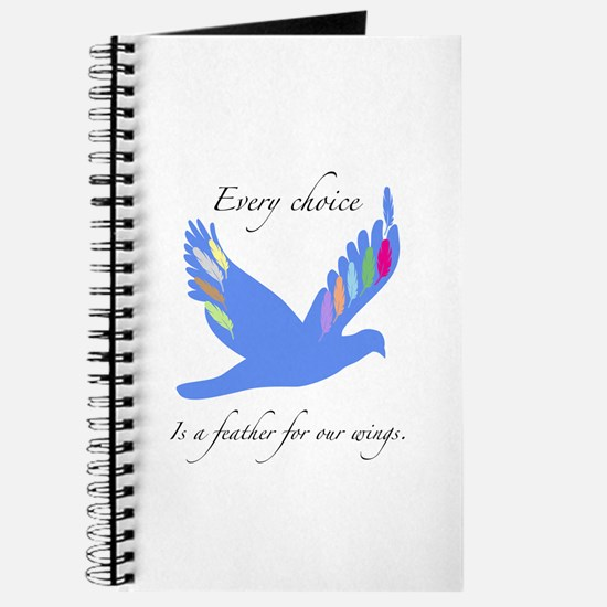 Feathers For Wings Gifts Journal