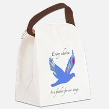Feathers For Wings Gifts Canvas Lunch Bag