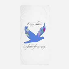 Feathers For Wings Gifts Beach Towel