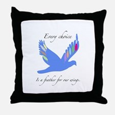 Feathers For Wings Gifts Throw Pillow