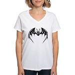Decorative Bat Women's V-Neck T-Shirt