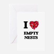 I love Empty Nests Greeting Cards