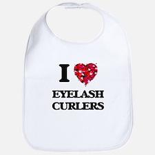 I love Eyelash Curlers Bib