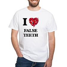 I love False Teeth T-Shirt