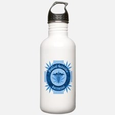 Medical Cannabis Supporter Water Bottle