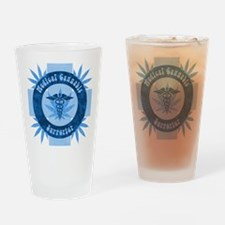 Medical Cannabis Supporter Drinking Glass