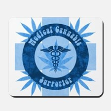 Medical Cannabis Supporter Mousepad