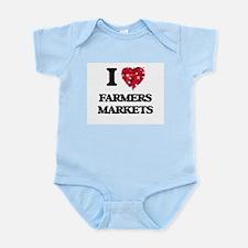 I love Farmers Markets Body Suit