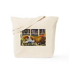 Unique Sleeping pets Tote Bag