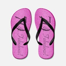 70th Birthday Fabulous Flip Flops