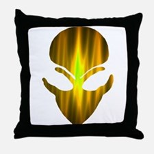 Alien Fire 4 Throw Pillow