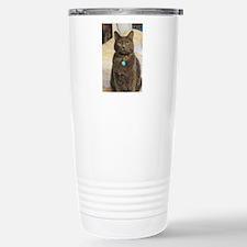 Funny Russian blue Travel Mug