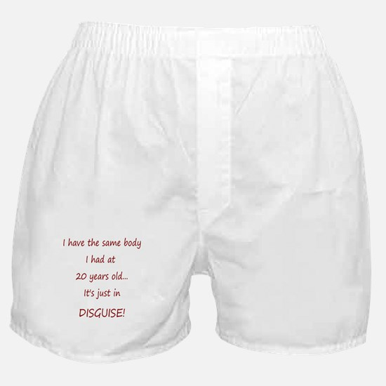 Body in Disguise Boxer Shorts