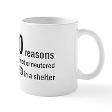 10 Reasons to Spay/Neuter Mug
