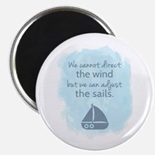 Nautical Sail boat Mentality Quote Magnets