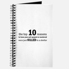 10 Reasons to Spay/Neuter Journal
