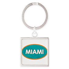 MIAMI TEALSTONE Keychains