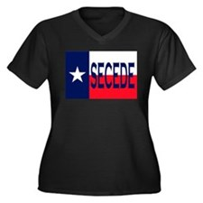 Texas Secceed Plus Size T-Shirt