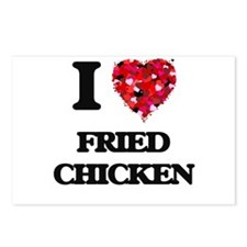 I love Fried Chicken Postcards (Package of 8)