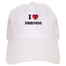 I love Friends Baseball Cap
