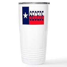 Texas Secceed Travel Mug
