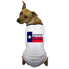 Texas Secceed Dog T-Shirt
