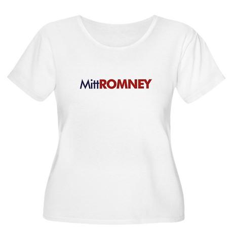 Mitt Romney for President! Women's Plus Size Scoop